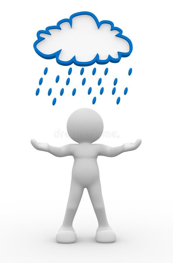 σύννεφο βροχερό απεικόνιση αποθεμάτων
