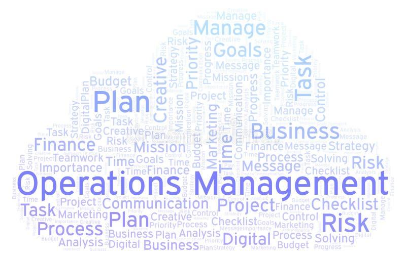 Σύννεφο διοικητικής λέξης διαδικασιών, που γίνεται με το κείμενο μόνο απεικόνιση αποθεμάτων