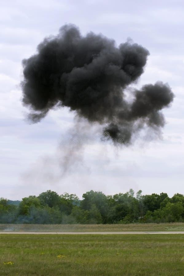 σύννεφο πέρα από τον καπνό δι&al στοκ φωτογραφίες με δικαίωμα ελεύθερης χρήσης