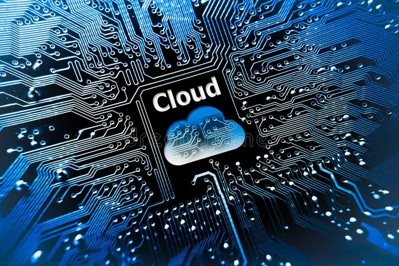 σύννεφο του 2010 που υπολ&omicron στοκ εικόνα με δικαίωμα ελεύθερης χρήσης