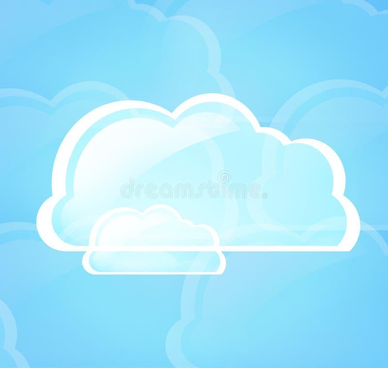 σύννεφο του 2010 που υπολ&omicron ελεύθερη απεικόνιση δικαιώματος
