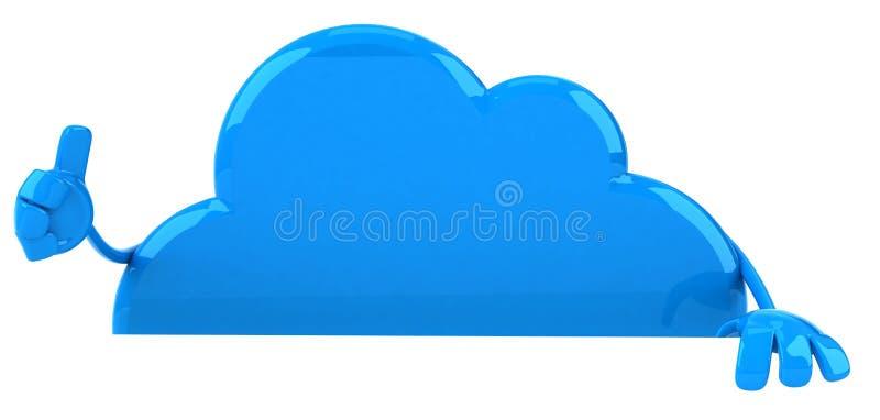 Download σύννεφο απεικόνιση αποθεμάτων. εικονογραφία από δικτύωση - 22797594