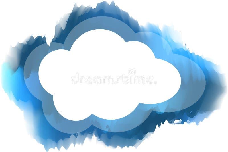 Σύννεφο ελεύθερη απεικόνιση δικαιώματος