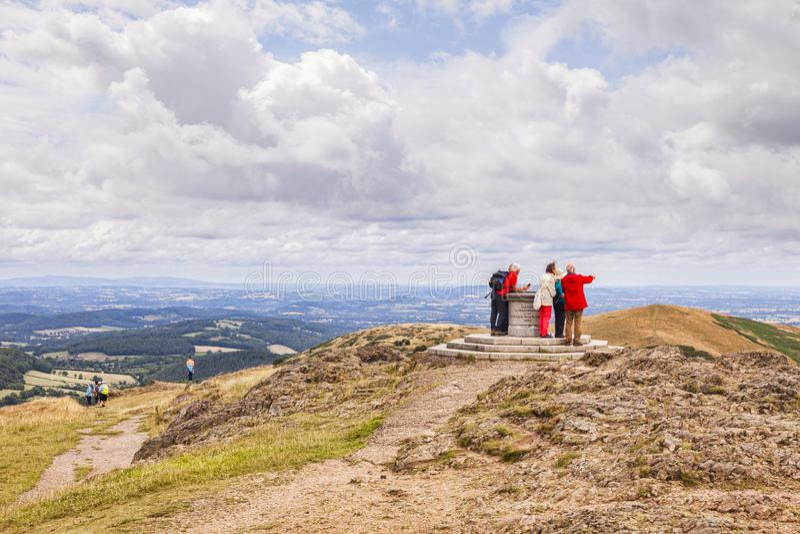 Σύνοδος Κορυφής αναγνωριστικών σημάτων Worcestershire στοκ φωτογραφία με δικαίωμα ελεύθερης χρήσης