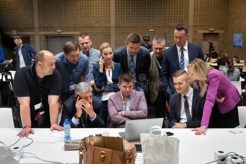 Σύνοδος κορυφής στρατιωτικής συμμαχίας του ΝΑΤΟ στις Βρυξέλλες στοκ φωτογραφίες με δικαίωμα ελεύθερης χρήσης