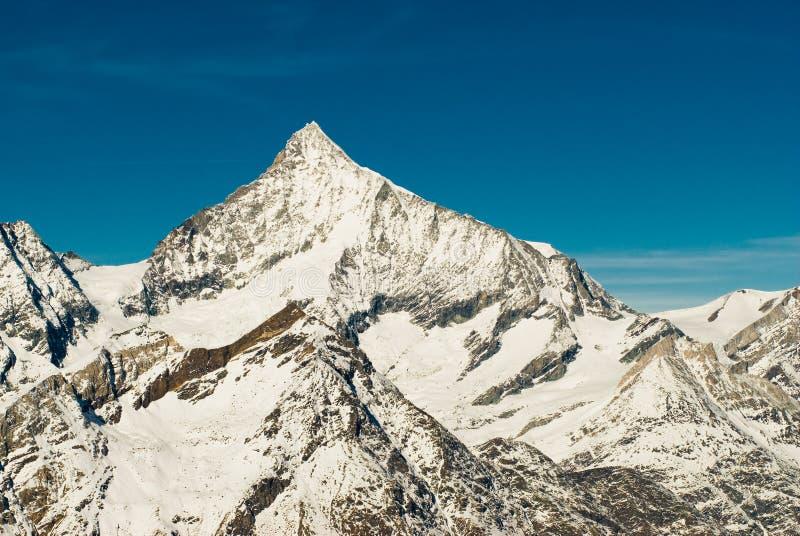 σύνοδος κορυφής weisshorn στοκ εικόνα