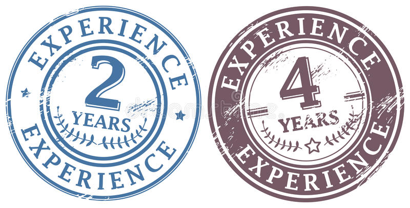 Σύνολο γραμματοσήμων διανυσματική απεικόνιση