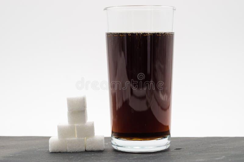 Σύνολο γυαλιού του μη αλκοολούχου ποτού στοκ εικόνες