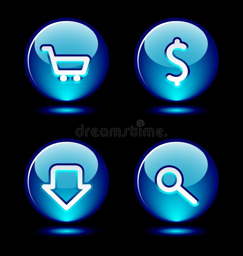 σύνολο δαχτυλιδιών 2 κουμπιών ελεύθερη απεικόνιση δικαιώματος