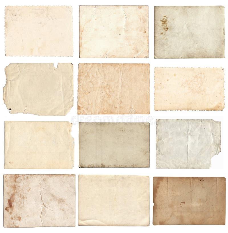 Σύνολο διάφορων αναδρομικών παλαιών φωτογραφιών που απομονώνεται διανυσματική απεικόνιση