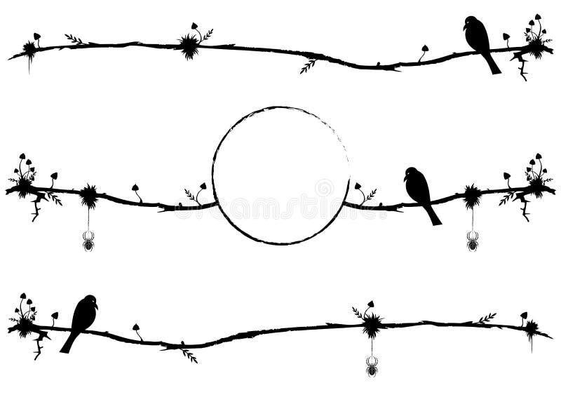 Σύνολο διαιρετών με το κοράκι απεικόνιση αποθεμάτων