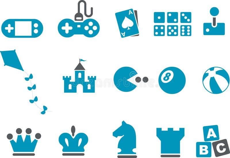 σύνολο εικονιδίων παιχν&iot ελεύθερη απεικόνιση δικαιώματος