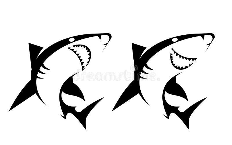 Σύνολο καρχαρία απεικόνιση αποθεμάτων