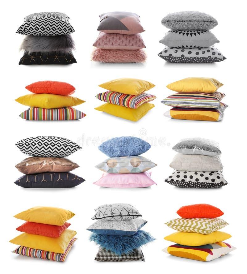 Σύνολο με τα διακοσμητικά μαξιλάρια στοκ φωτογραφία με δικαίωμα ελεύθερης χρήσης