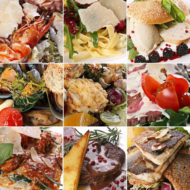σύνολο μιγμάτων τροφίμων στοκ εικόνες