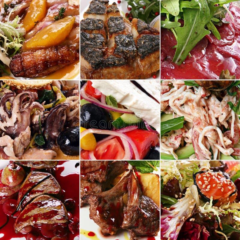 σύνολο μιγμάτων τροφίμων στοκ εικόνα με δικαίωμα ελεύθερης χρήσης