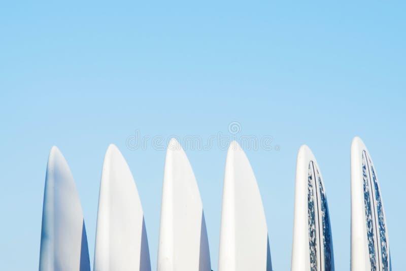 Σύνολο πινάκων κυματωγών σε έναν σωρό στοκ εικόνες