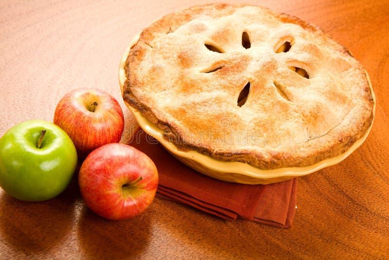 σύνολο πιτών μήλων στοκ φωτογραφίες με δικαίωμα ελεύθερης χρήσης