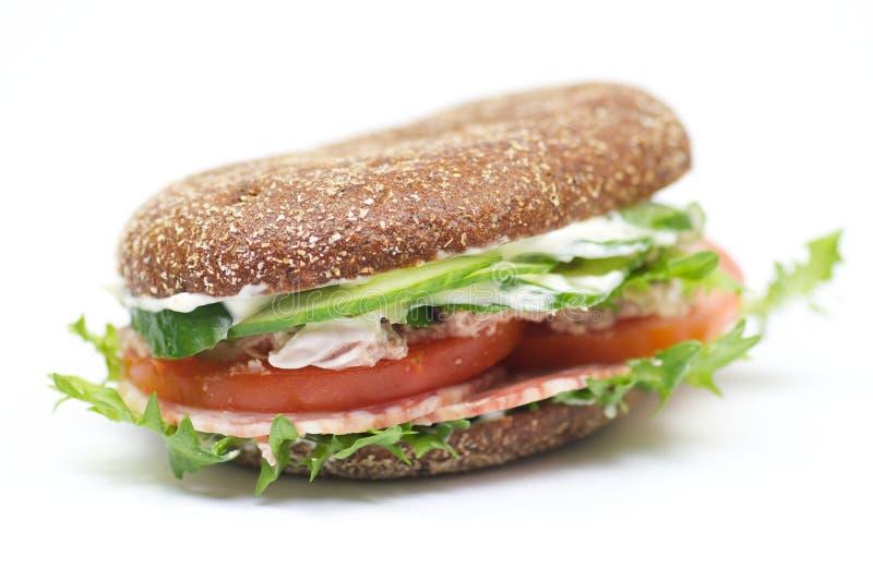 σύνολο σίτου σάντουιτς ψωμιού στοκ φωτογραφίες με δικαίωμα ελεύθερης χρήσης