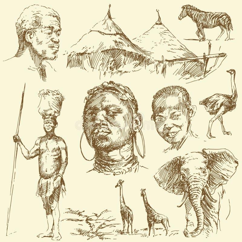 σύνολο της Αφρικής ελεύθερη απεικόνιση δικαιώματος