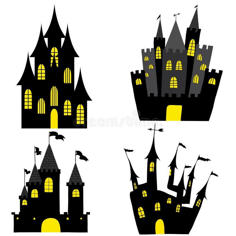 Σύνολο του Castle απεικόνιση αποθεμάτων