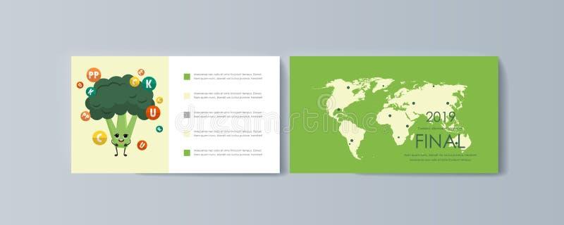Σύνολο φυλλάδιων για το μάρκετινγκ των αγαθών και των υπηρεσιών προώθησης στην αγορά ελεύθερη απεικόνιση δικαιώματος
