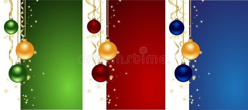 σύνολο Χριστουγέννων αν&alpha διανυσματική απεικόνιση