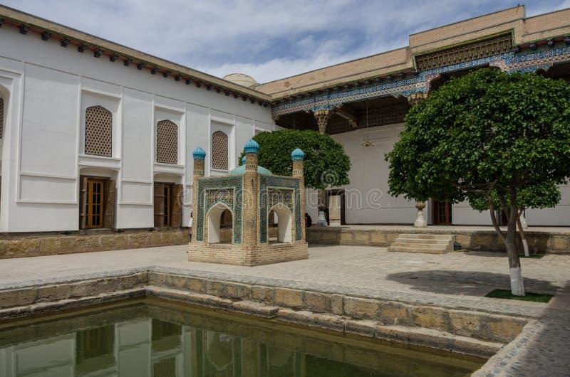 σύνολο naqshband ud Ουζμπεκιστάν bukhari DIN της Μπουχάρα baha Μπουχάρα, στοκ φωτογραφίες