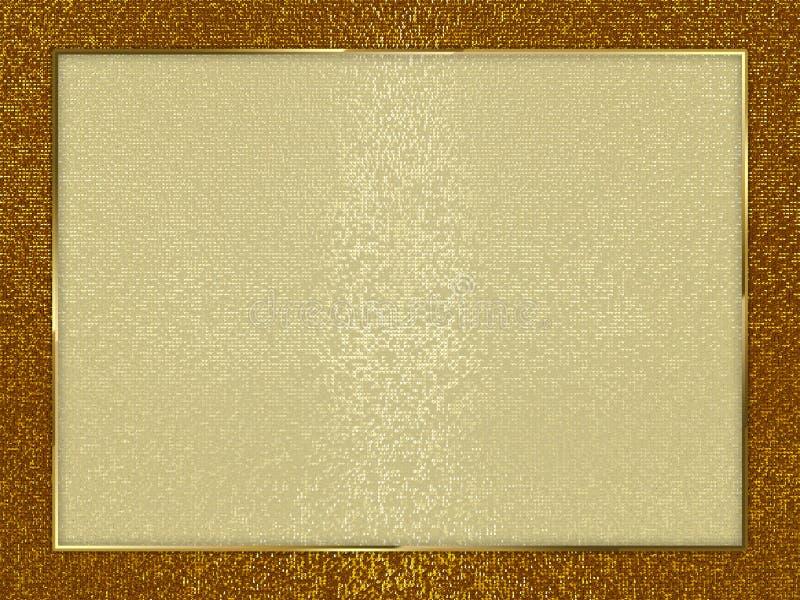 Σύνορα με το αφηρημένο γεωμετρικό υπόβαθρο τρισδιάστατη απεικόνιση στοκ εικόνα με δικαίωμα ελεύθερης χρήσης