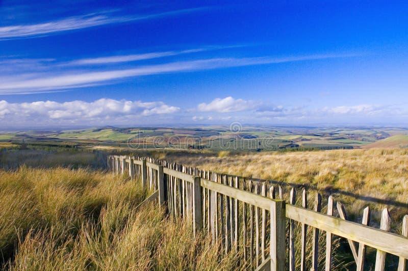 σύνορα σκωτσέζικα στοκ εικόνα με δικαίωμα ελεύθερης χρήσης