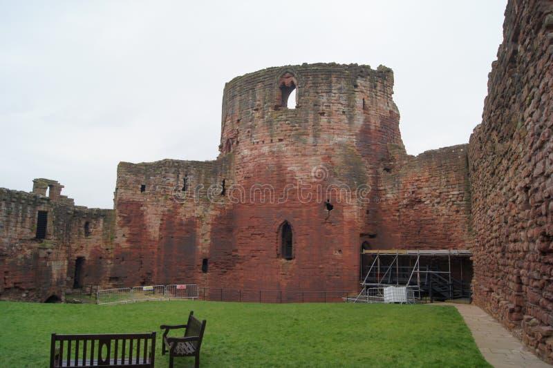 Σύνορα του Castle Bothwell της Αγγλίας και της Σκωτίας στοκ φωτογραφίες με δικαίωμα ελεύθερης χρήσης