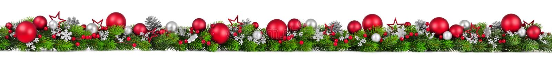 Σύνορα Χριστουγέννων στο λευκό, επιπλέον ευρέως απεικόνιση αποθεμάτων