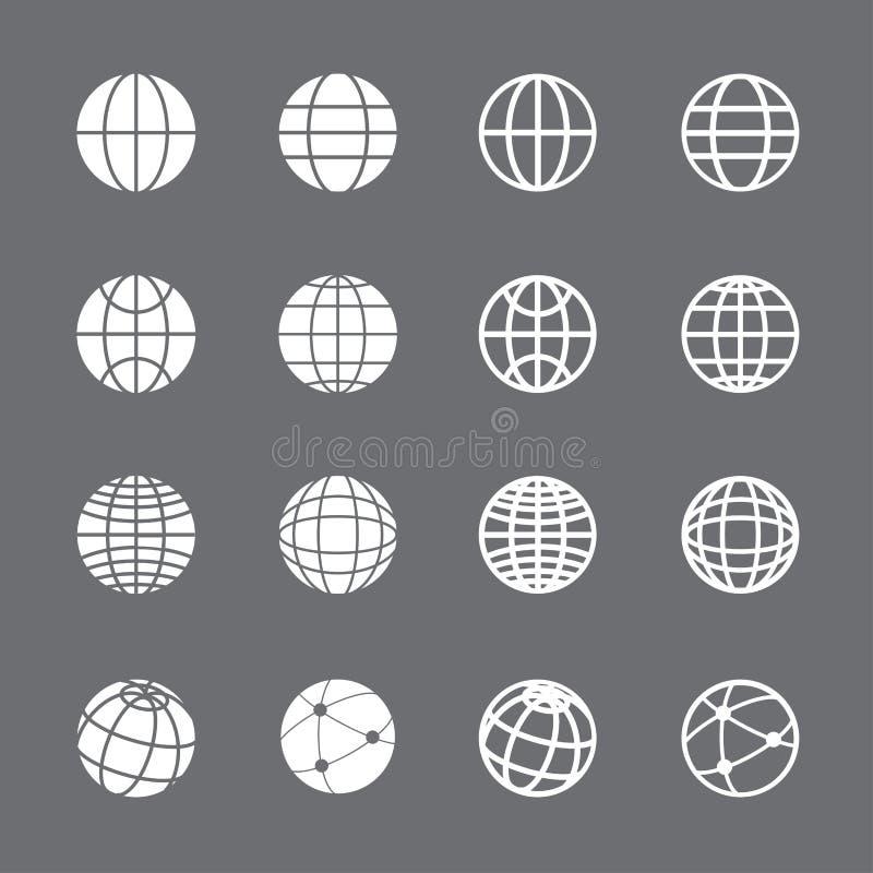 Σύνολο εικονιδίων σφαιρών, διανυσματικό eps10 διανυσματική απεικόνιση