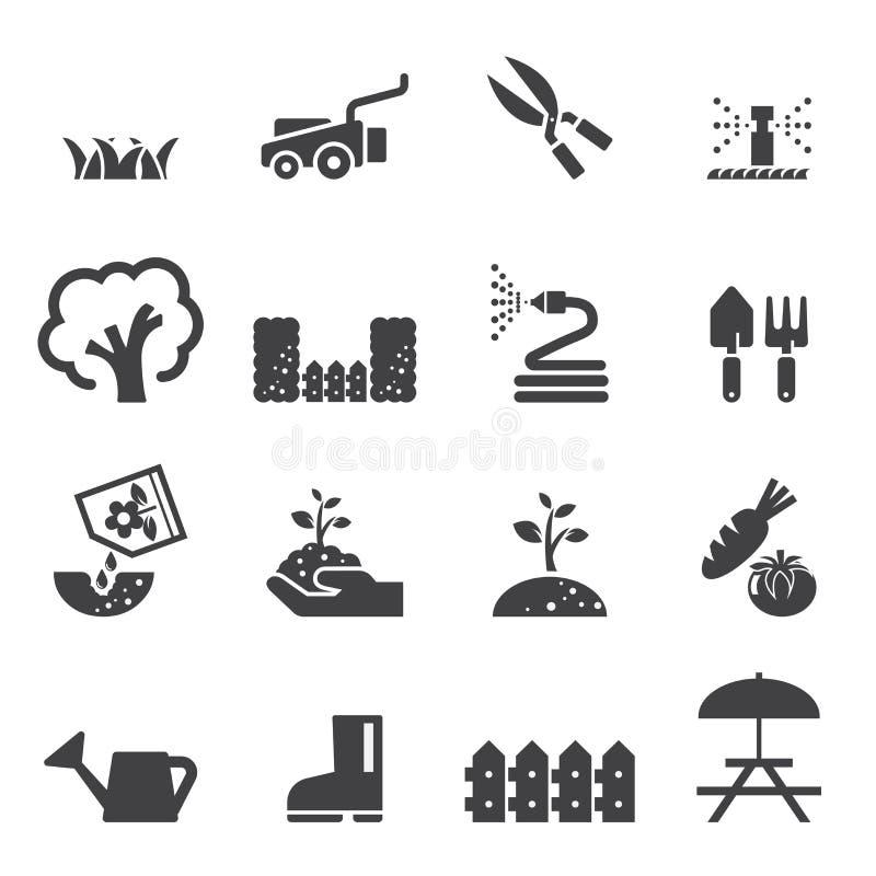 Σύνολο εικονιδίων χορτοταπήτων απεικόνιση αποθεμάτων