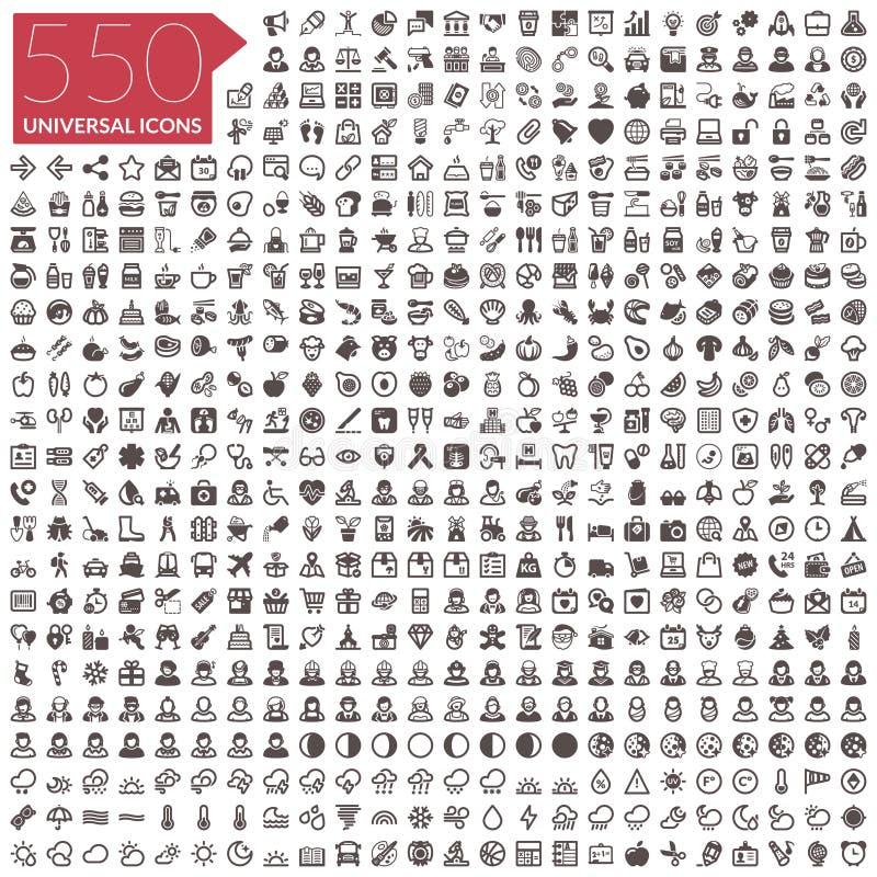 Σύνολο 550 εικονιδίων
