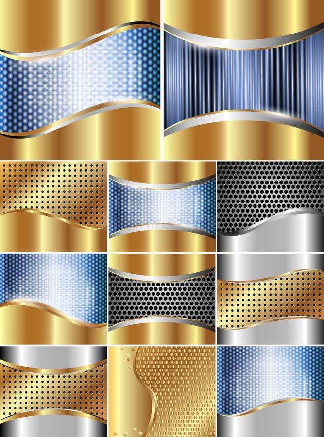 σύνολο μετάλλων ανασκο&pi απεικόνιση αποθεμάτων