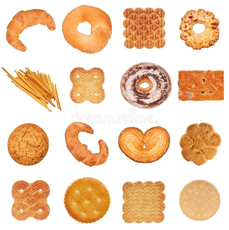 Σύνολο μπισκότων στοκ φωτογραφία με δικαίωμα ελεύθερης χρήσης