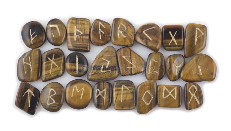 Σύνολο πετρών ρούνων στοκ εικόνες με δικαίωμα ελεύθερης χρήσης
