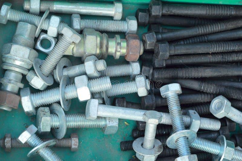 Σύνολο πραγματικών χρησιμοποιημένων ανοξείδωτων κλειδιών στοκ εικόνα με δικαίωμα ελεύθερης χρήσης