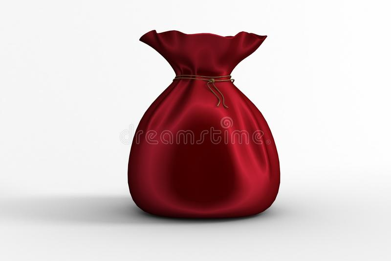 Σύνολο σάκων Santas των δώρων απεικόνιση αποθεμάτων
