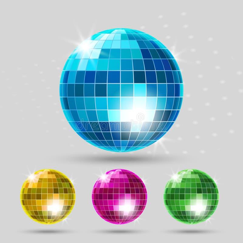 Σύνολο σφαιρών Disco απεικόνιση αποθεμάτων