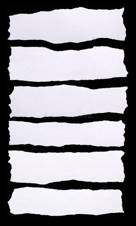 Σύνολο σχισμένης Λευκής Βίβλου στοκ φωτογραφία