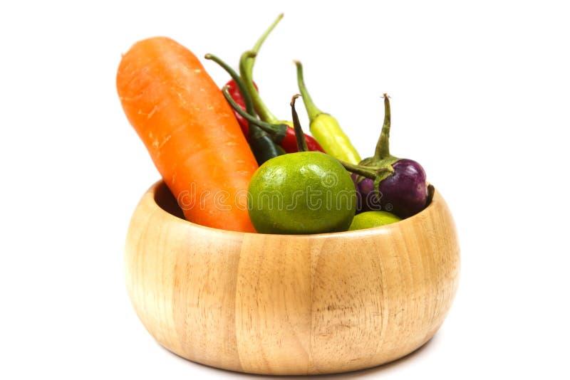 Σύνολο υγιών λαχανικών στοκ εικόνα