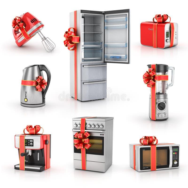 Σύνολο δώρων κουζινών απεικόνιση αποθεμάτων