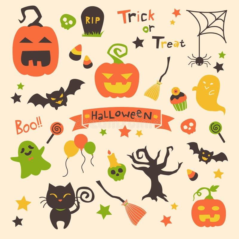 Σύνολο Hallowen απεικόνιση αποθεμάτων