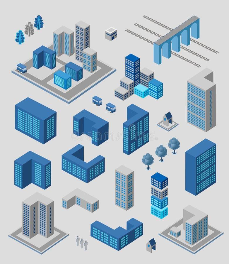 Σύνολο Infographics απεικόνιση αποθεμάτων