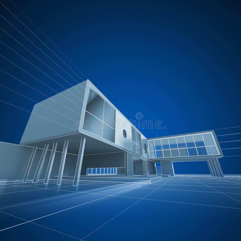 Σύνταξη αρχιτεκτονικής ελεύθερη απεικόνιση δικαιώματος