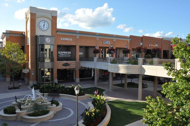 Σύντομο πόλης κέντρο αντλιών στη Βιρτζίνια στοκ φωτογραφίες