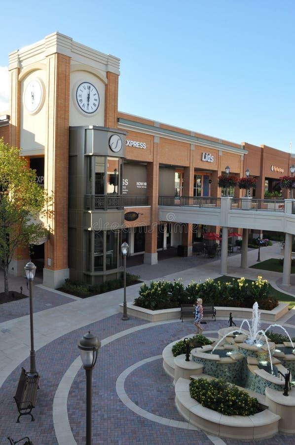 Σύντομο πόλης κέντρο αντλιών στη Βιρτζίνια στοκ φωτογραφίες με δικαίωμα ελεύθερης χρήσης