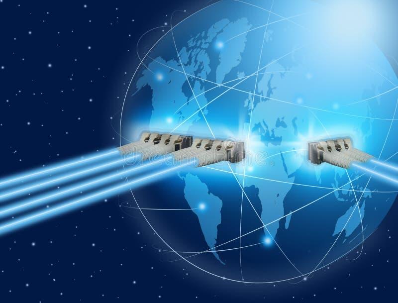Σύνδεση παγκόσμιων επικοινωνιών στοκ εικόνες
